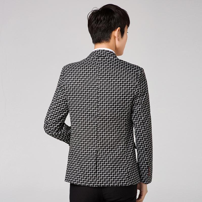 efc0d04d7ae 2018 New Arrival Men s Long Sleeve Suit Jacket Slim Elegant Young ...