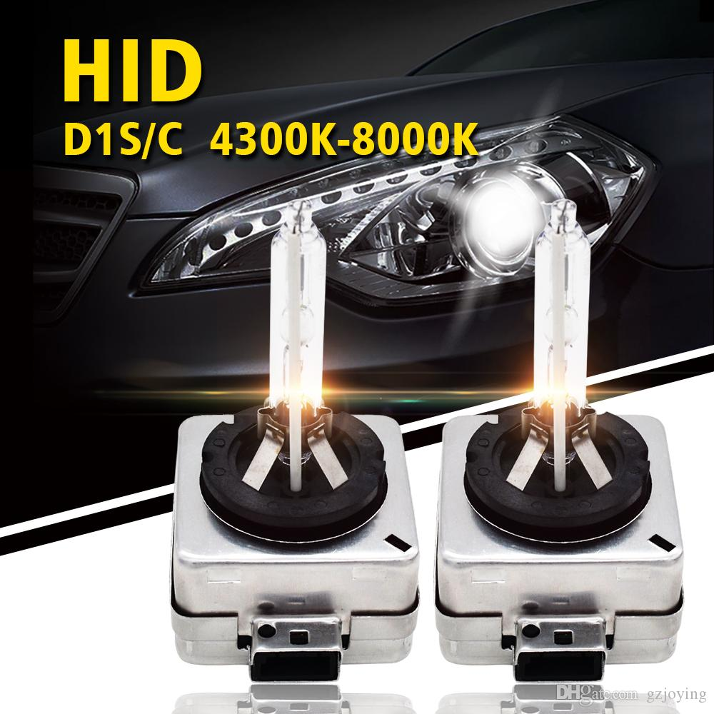 SKYJOYCE D1S Xenon Bulbs 35W D1S HID Bulb Replacement 6000k HID Xenon Lamp for Car Headlight