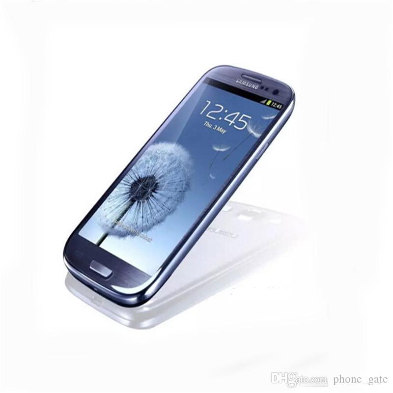 Original Remodelado Desbloqueado Samsung Galaxy S3 I9305 i9300 8 GB 16 GB 3G Celular WCDMA Quad Core de 4.8 polegada Câmera 8MP WiFi GPS SmartPhone