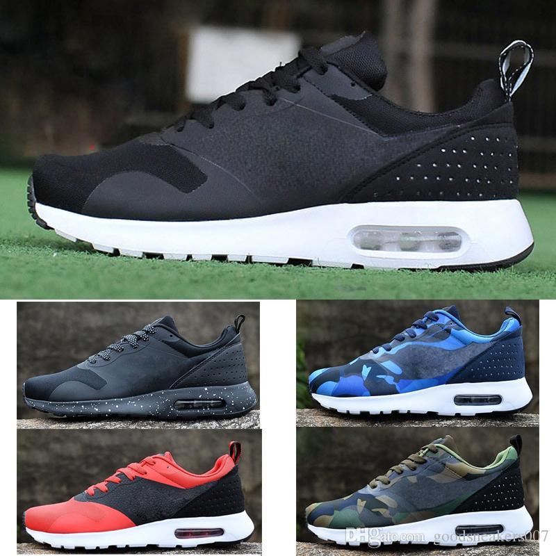 Großhandel Nike Air Max Airmax Print Mens Casual Schuhe Gradient 87 90  Schwarz Blau Rot Leichte Mesh Atmungsaktive Wandern Wandern Herren  Regenbogen Camo ... ac7ecea020