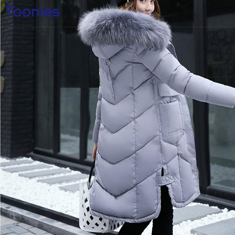 c2a4b869c810a 2019 Abrigos Mujer Invierno 2018 Korean Style Long Winter Jacket Women Fur  Hooded Parka Winter Coat Woman Thick Warm Chaqueta Mujer From Beasy114