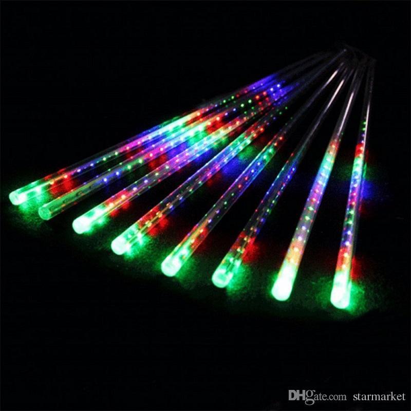 Hot Selling 30cm Meteor Shower Rain Tubes Led Light Lamp 100-240V EU US Plug Christmas String Light Wedding Garden Halloween Xmas Decoration