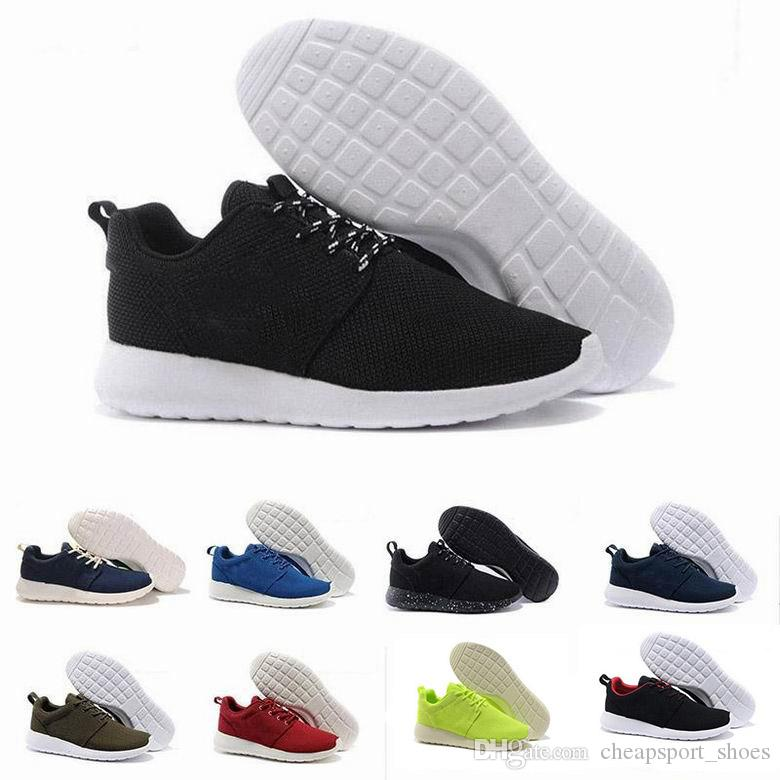 size 40 46037 2d16a Compre London Olympic Running Zapatos Para Hombres Mujeres Venta Caliente  Tanjun Runs Zapatos Rushe Run Black Red White Sneakers A  50.77 Del ...