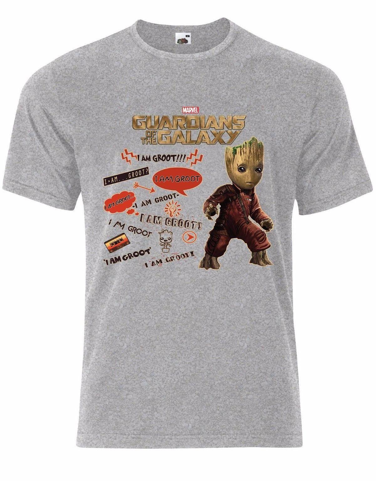 b16aff611 Guardians Of The Galaxy Vol.2 I Am Groot Mixtape Marvel Mens Tshirt AL11 T  Shirt Prints T Shirt Designing From Yuxin07