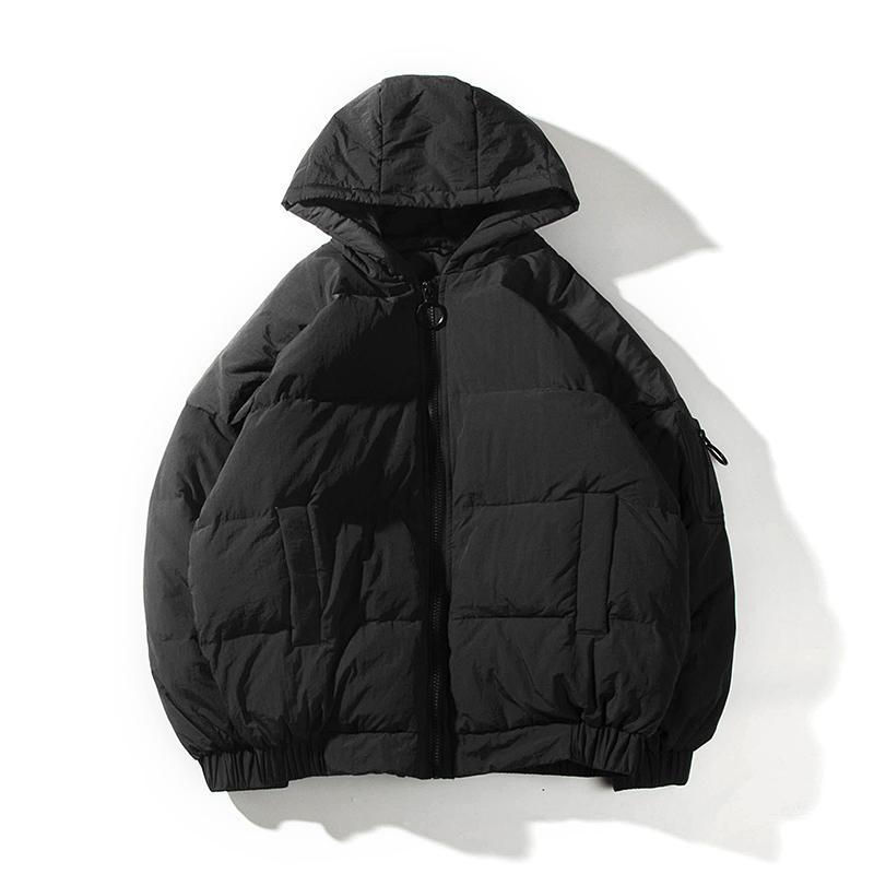 b5e19253a6 Großhandel Hong Kong Style Camouflage Druck Hut Junge Studenten Baumwolle  Lose Männer Parkas Mantel 2018 Winter Warme Einfarbig Männlich Jacken Von  Cute08, ...