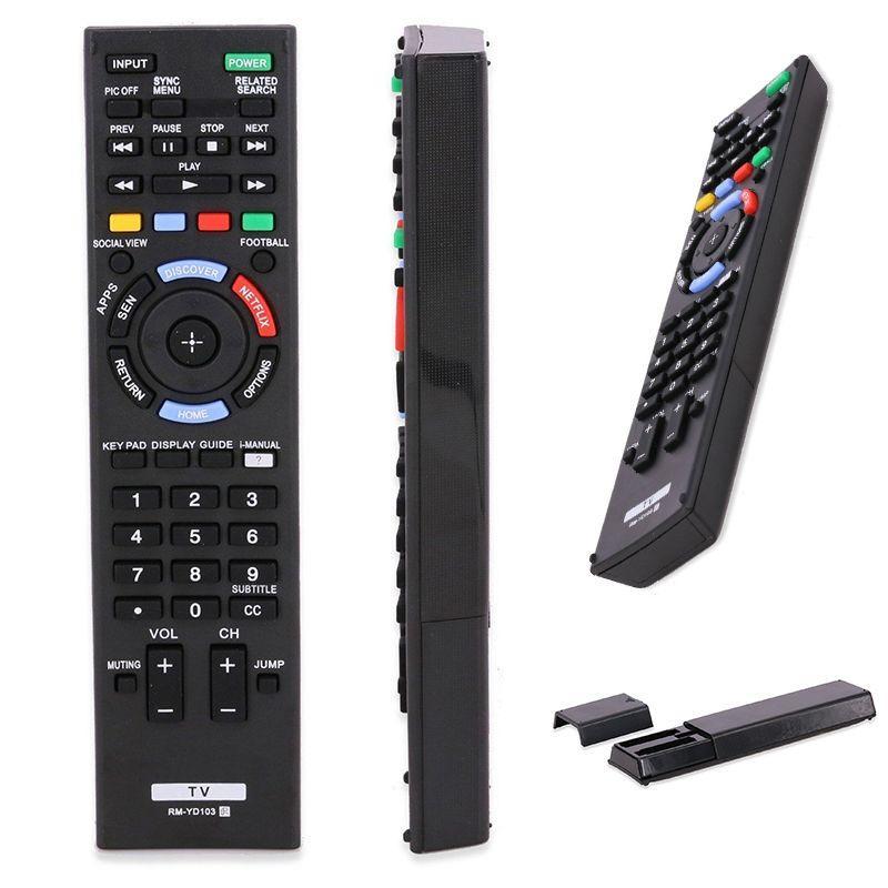 Mayitr 1pc Black Remote Control Contrller Fit For SONY Bravia TV  KDL-40HX750 KDL-50W790BRM-YD103