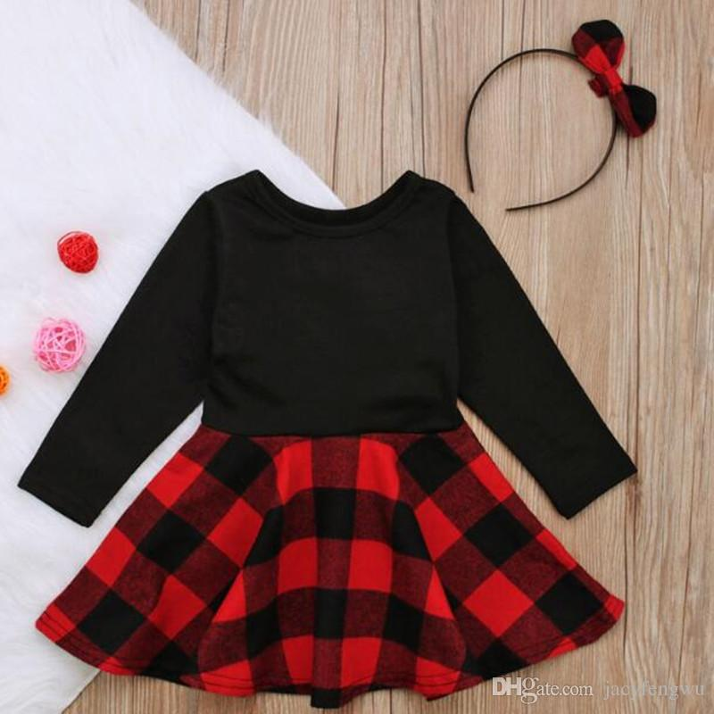 18b433a82 2019 Girls Boutique Outfits Spring Clothes Dress Girls Butterfly ...