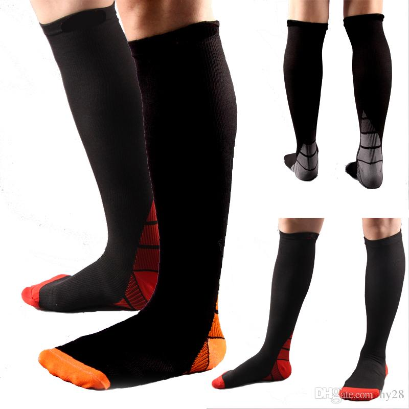 32bc9bc5c3 2019 New Fashion New Men Compression Socks Fit Breathable Long Socks For  Male Travel Boost Stamina Flexible Long Sock Hot From Hy28, $15.08 |  DHgate.Com