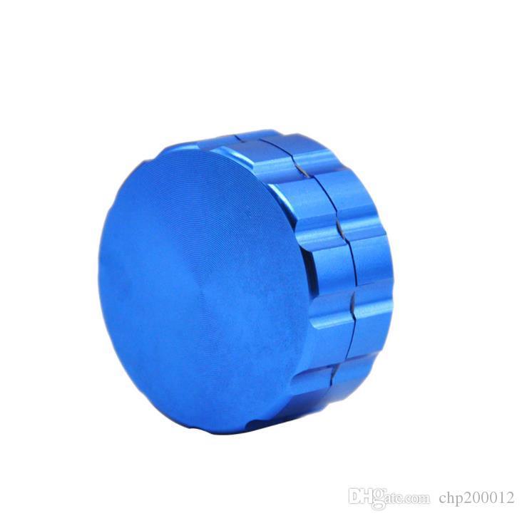 Çapı 30mm ince değirmeni iki katmanlı alüminyum alaşımlı sigara kesici değirmeni