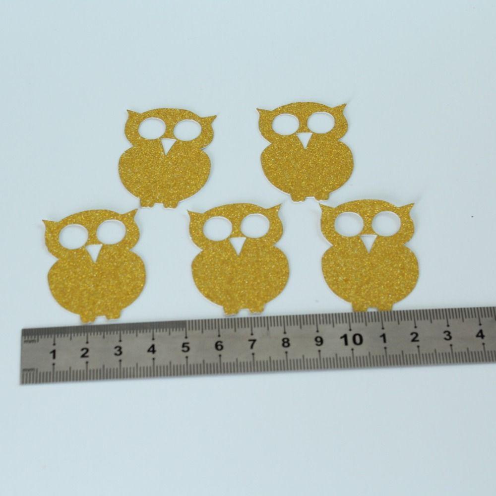 Compre 50 Owl Confetti Woodland Party Baby Shower Decoraciones Caida