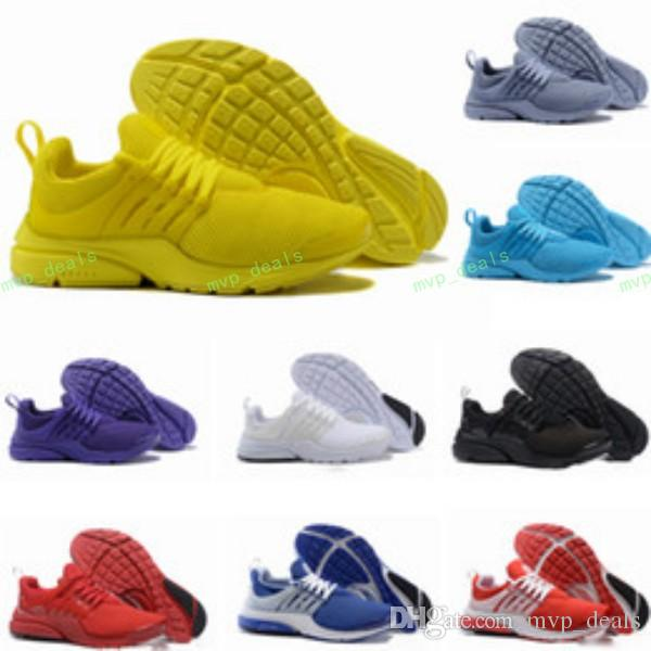 e0cc9b029a49f9 2018 Hot Presto 5 Ultra BR QS Black White All Yellow Purple Red Grey Running  Shoes For Women Men Top Prestos V Casual Sports Sneakers 36 4 Trail Running  ...