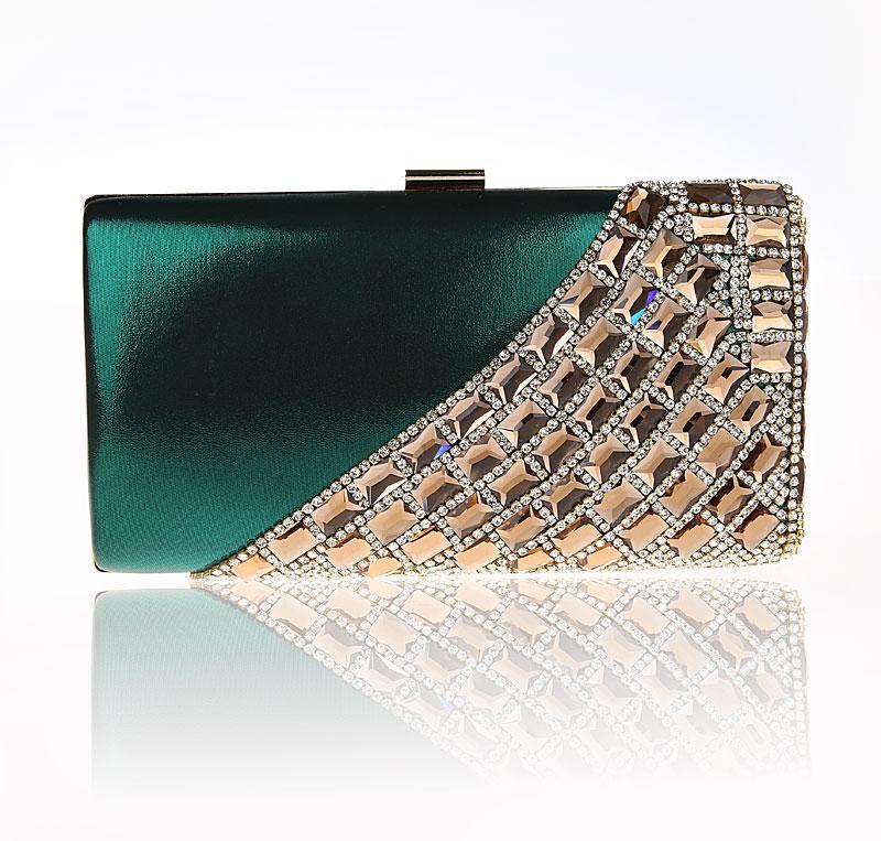 a8afc24f4c72 2016 New Arrival Green Chinese Women s Banquet Handbag Fashion Party Bridal Evening  Bag Purse Makeup Bag Mujer Bolso 12025B Branded Handbags Designer ...