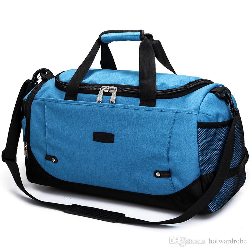 300bb76a32f9 2019 Brand Unisex Gym Bag Travel Outdoor Shoulder Bags Handbag Tote Sports  Bags Duffel Men Crossbody Large Clothes Storage Bag XA59WA From  Hotwardrobe