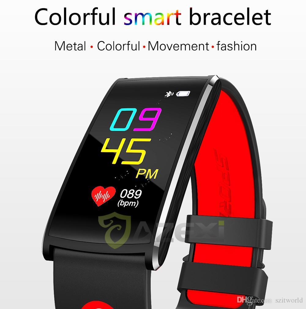 11c102d3d786 N68 Pulsera inteligente Cámara Ritmo cardíaco Presión arterial / oxígeno  Control del sueño Control remoto Superar Smart Mi Band