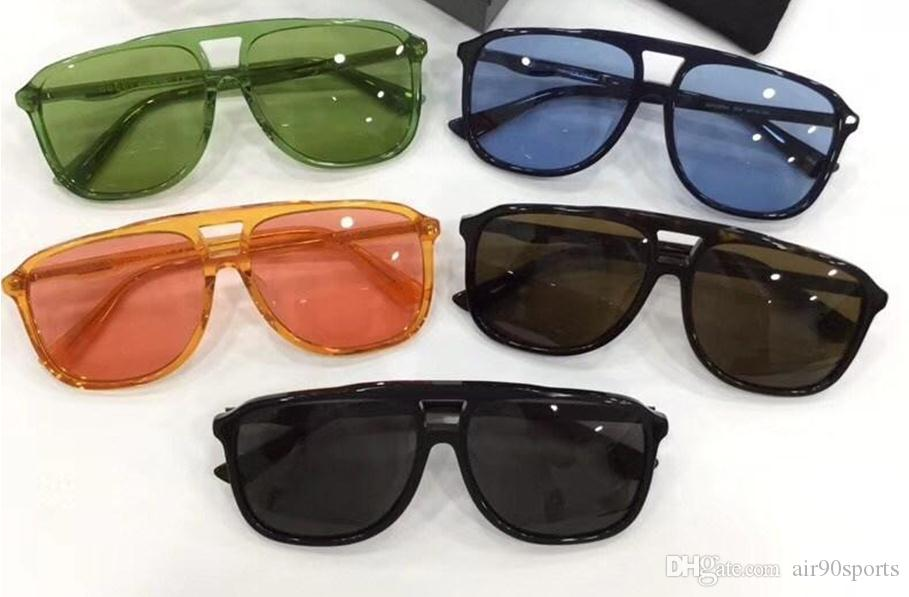 372322f242 New Luxury Brand Designer Sunglasses 0262 Square Frame Popular Style 0262S  Light Color Summer Uv400 Protectin Eyewear with Case Sunglasses Online with  ...
