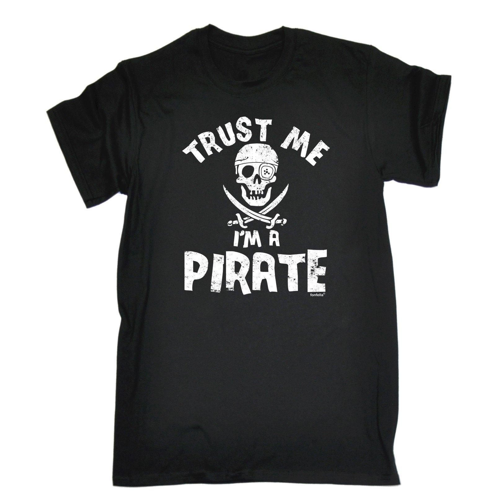 d148f56205c Trust Me Im A Pirate T Shirt Rum Pirate Nerd Drinking Top Funny Gift  Birthday 2018 New Summer Men Hot Sale Fashion Jurney Cool T Shirt Shirts  Shirts And ...