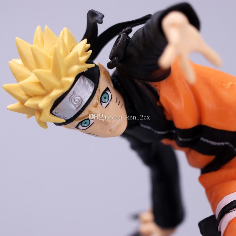 15см японское аниме Наруто фигура Шиппуден Узумаки Наруто Прыжок 50-летие фигура кукла ПВХ фигурка модель игрушки подарок