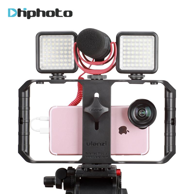 2019 Ulanzi Smartphone Video Rig Case Filmmaking Recording Vlogging Gear For  IPhone X IPhone 7 Plus Android Videomaker From Kaomianjin ce845b514