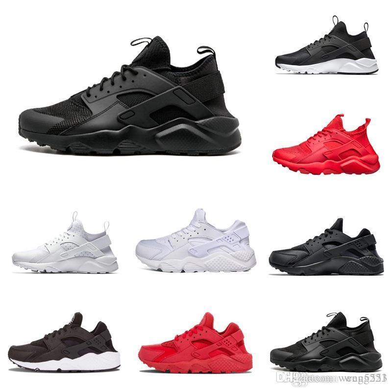 Huarache 4.0 1.0 Classical Triple White Black Red Men Women Huarache Shoes  Huaraches Sports Sneakers Running Shoes Size Eur 36 45 Boys Tennis Trainers  Girls ... e3ecf59f5