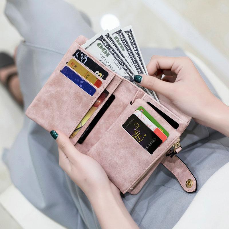 Dame beibei pu-leder frauen kurze brieftaschen damenmode kleine brieftasche geldbörse weibliche karte brieftasche geldbörsen geld tasche für mädchen