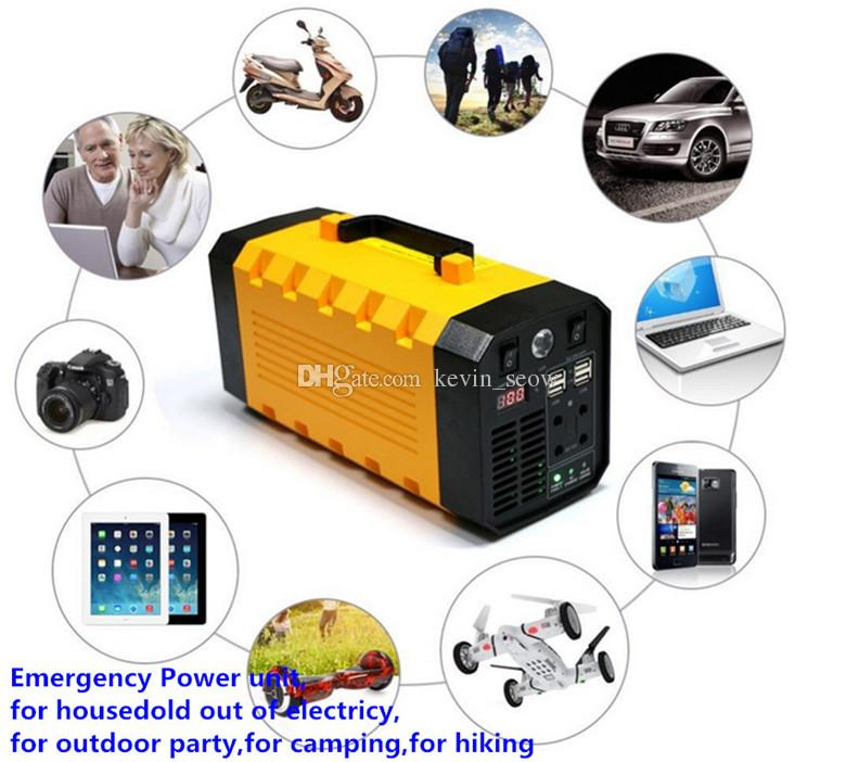 2018 portable mini UPS 12V 35Ah lithium battery pack Mini Protable Backup Power Supply 12V Home Small UPS.