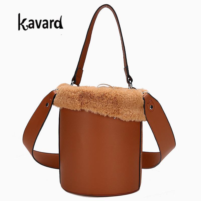 Mini Sac Bucket Bag For Women Luxury Handbags Women Bags Designer Leather  Handbag Faux Fur Bag Handbag Famous Brand Cheap Handbags Cheap Purses From  ... 69f0aec5ca973