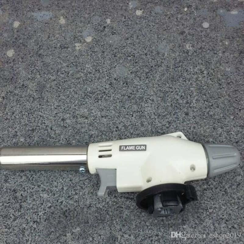 Blowtorch cottura saldatura del butano della torcia del gas della fiamma della pistola automatica di accensione Soffiare Jet bruciatore Accendino Saldatura Ferro Rovente Riscaldamento attrezzi del BBQ
