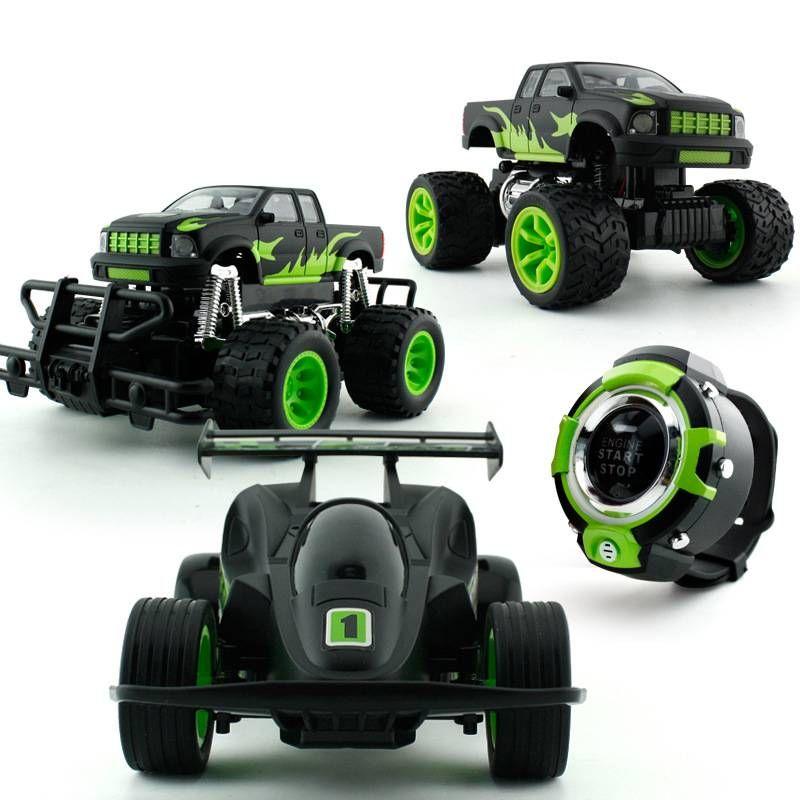 Kids Boys Girls Hi Tech Wireless Voice Remote Control Atv Racer Car
