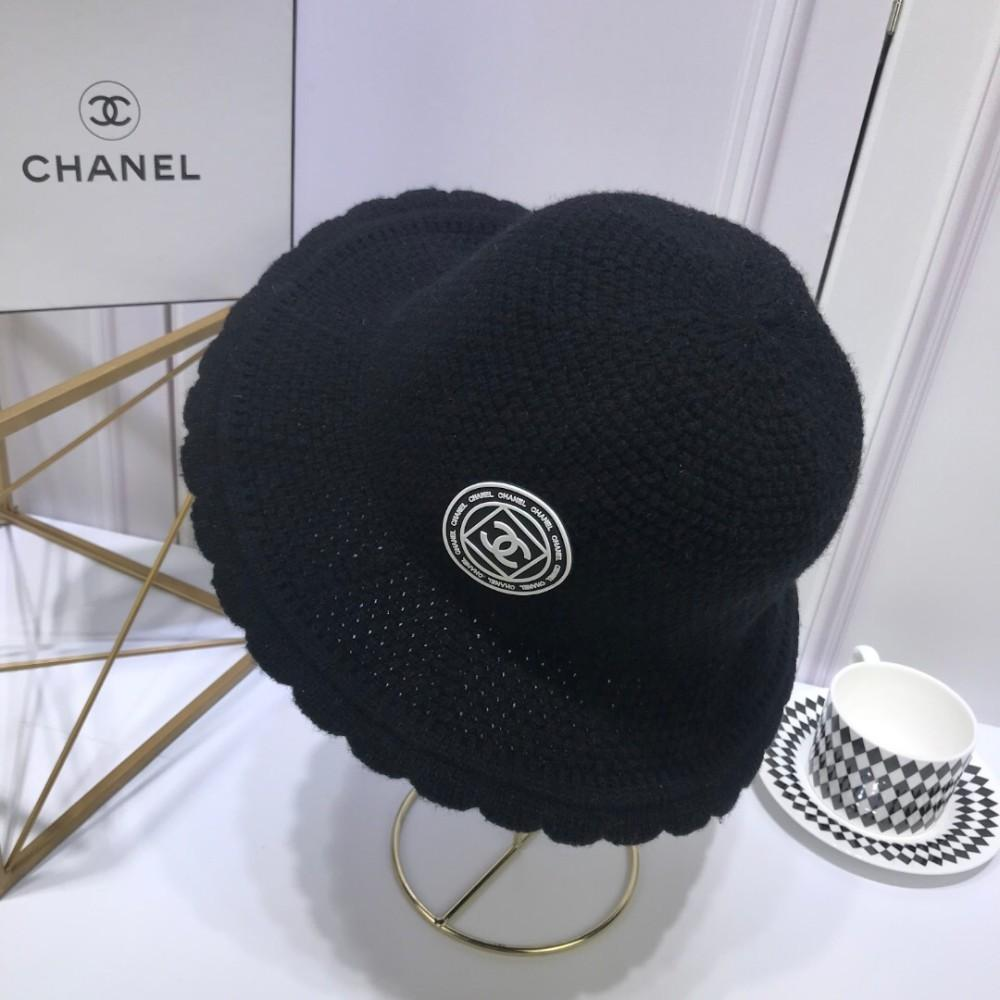 aa9badc6602 2018 Autumn And Winter Small Fragrant Knit Wool Dome Cap Explosion ...