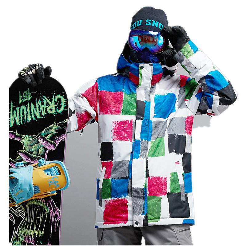 293127dc2c 2019 Men Snowboard Jacket Winter Warm Clothing Outdoor Sport Wear Camping  Riding Skiing Snowboard Thicken Thermal Male Coat New From Cloudyday