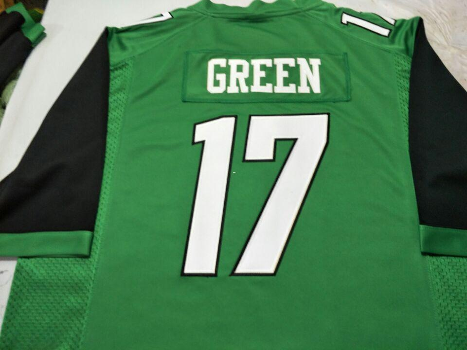 00efe2372 2019 Men Marshall Thundering Herd Isaiah Green  17 Real Full Embroidery College  Jersey Size S 4XL Or Custom Any Name Or Number Jersey From Ncaa001
