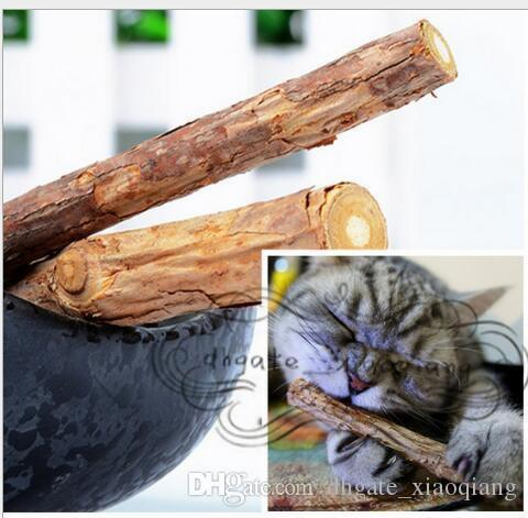 Catnip Silvervine teeth Sticks Cats Dental Health Sticks Pets Catnip Products wood toys cats snacks cats favor newest