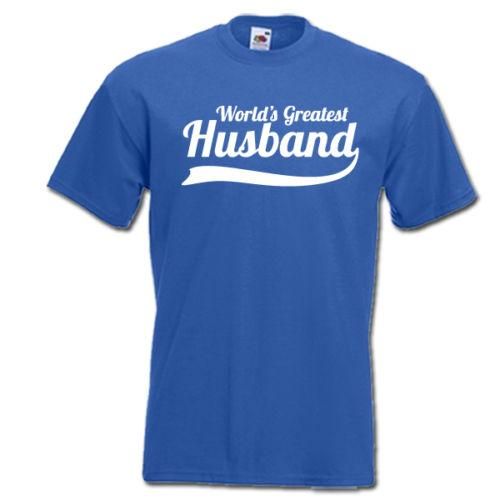 World S Greatest Husband Best Ever Hubby Funny Mens T Shirt