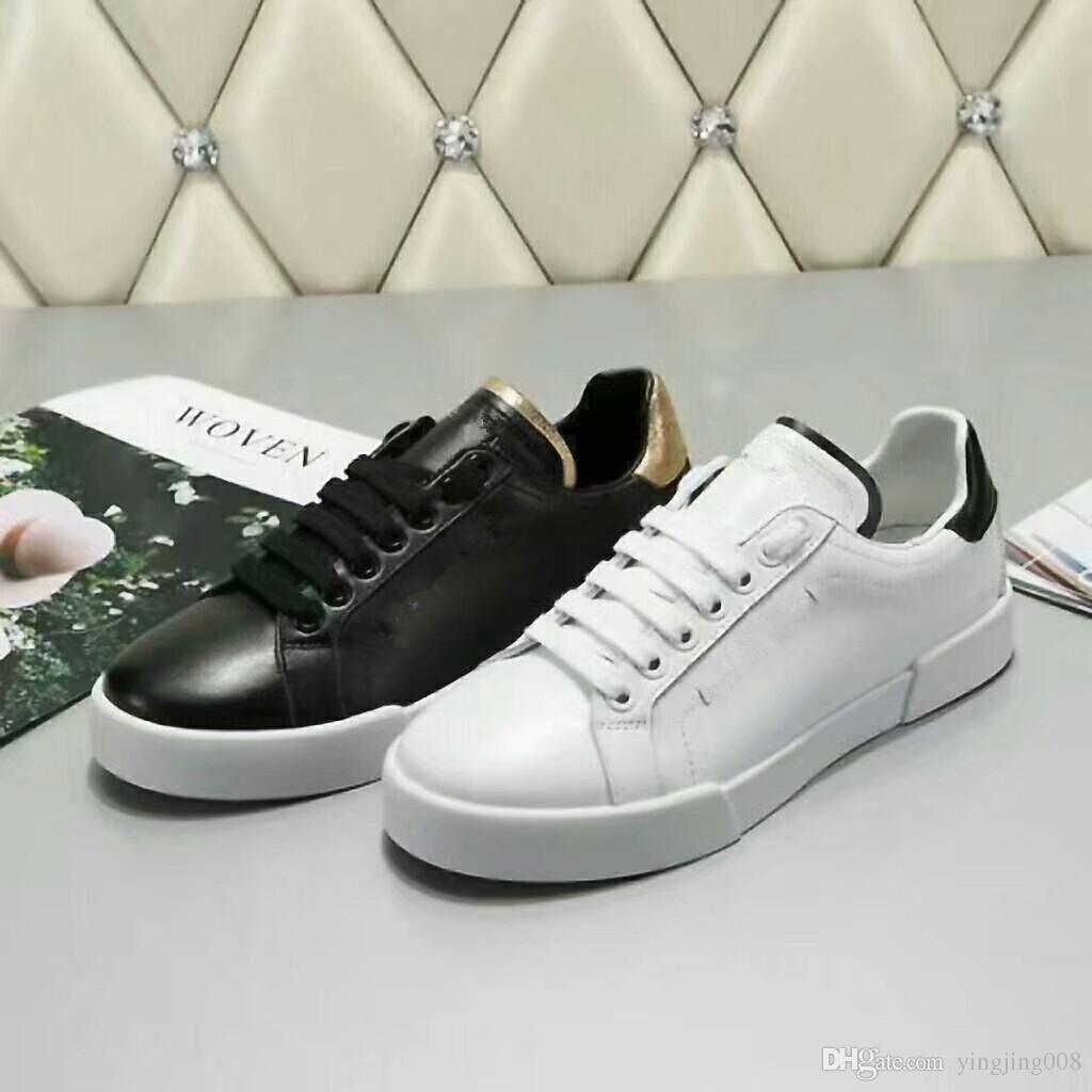 Best quality brand black white flower sequins genuine real leather brand black white flower sequins genuine real leather designer sneakers shoes vogue runway casual shoes 35 44 hw18012008 gold shoes mens casual shoes from mightylinksfo