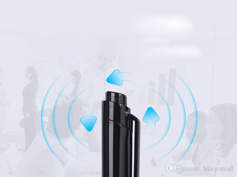 هلتون 8 جيجابايت المحمولة مسجل الصوت الرقمي القلم تخفيض الضوضاء ستيريو تسجيل الصوت USB فلاش لاعب مشغل mp3 grabadora