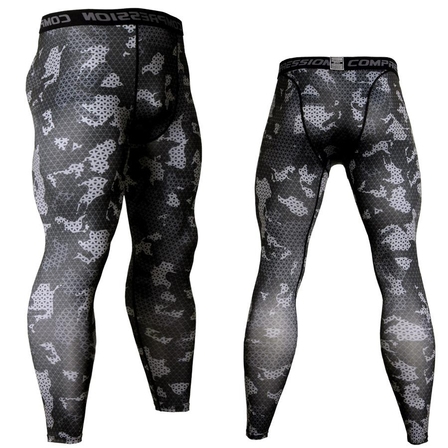 Camouflage Kompression Hosen Laufhose Männer Fußball Training Hosen Fitness Sport Leggings Männer Gym Jogging Hosen Sportswear Sportbekleidung