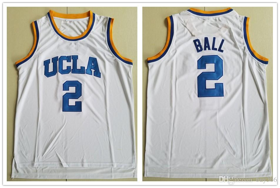 UCLA Bruins Jersey College Basketball Russell Westbrook Lonzo Ball ... 98d1fcc22