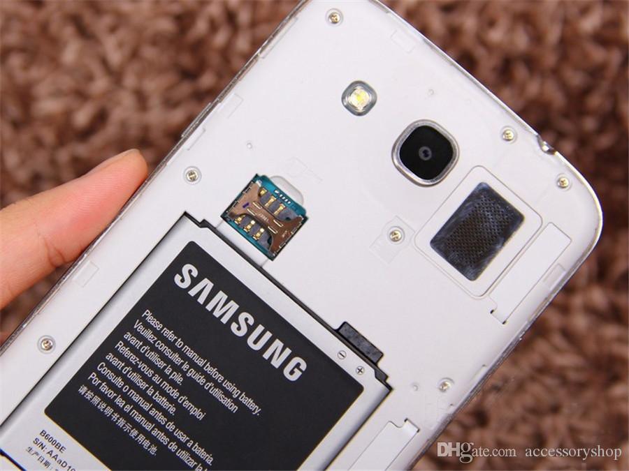 Yenilenmiş Orijinal Samsung Galaxy Mega 5.8 i9152 Çift SIM 5.8 inç Çift Çekirdekli 1.5GB RAM 8GB ROM 8MP 3G Kilidi Android Telefon DHL 5adet