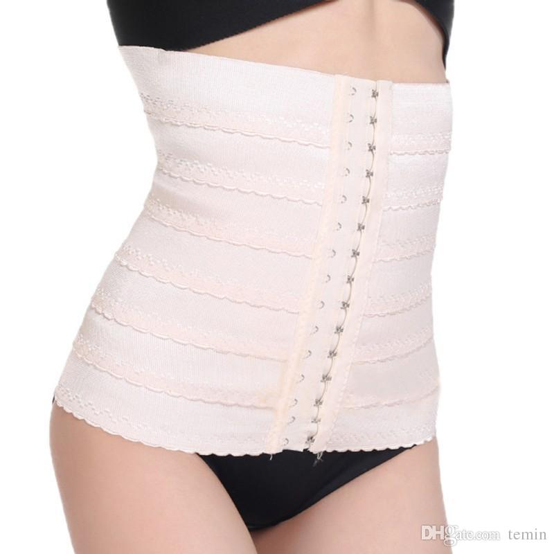 416c38d84cf45 Wholesale- Women Waist Trainer Slimming Shaper Corset Girdles Body ...