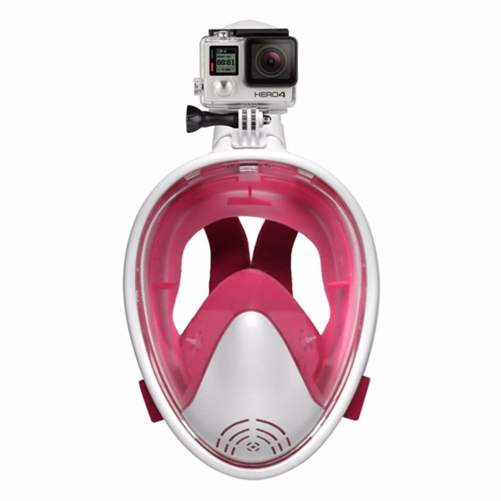 803ed8ab5 Compre Mergulho Da Natação Da Máscara 2018 Mergulhar Quente Da Superfície  Da Máscara Protectora Do Mergulho Da Natação Para De Wudun
