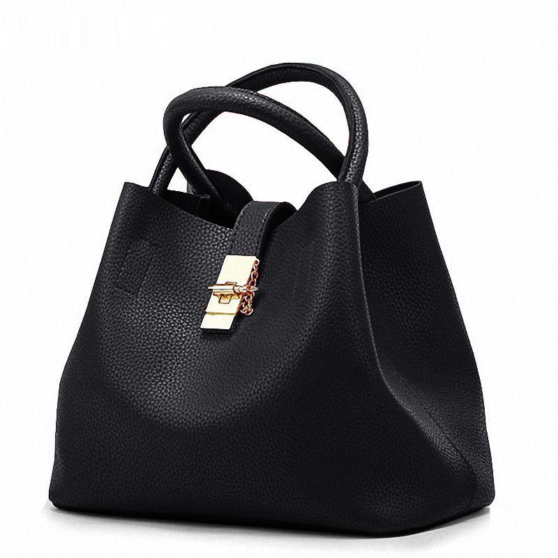 0dbd6368f0e9 2018 Leather Handbags Big Women Bag High Quality Casual Female Bags Trunk  Tote Spanish Brand Shoulder Bag PU Ladies Large Bolsos Cheap Designer Bags  Mens ...