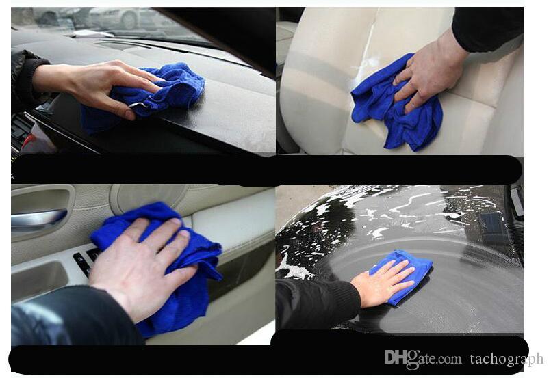 Oto fonksiyonlu oto yıkama havlu 70 * 30 parlatma havlu araba ağda araç cam su emme toptan