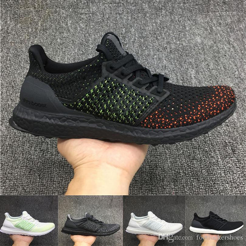 Compre 2018 Original Ultra Boost 3.0 5.0 Triplo Running Shoes Das Mulheres  Dos Homens De Alta Qualidade Ultraboost 3.0 Preto Branco Tênis De Corrida 36  46 ... 8ec7eb325caab