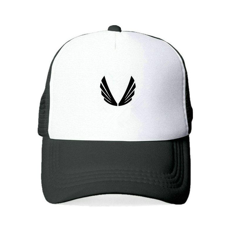 Compre 2018 Nuevo ASRV Baseketball Cap AS Gimnasios Snapback Sombreros  Black Wing Logo Cap De Impresión Hombres Mujeres Conch Shell Trucker Hat  YY427 A ... d45f791615d