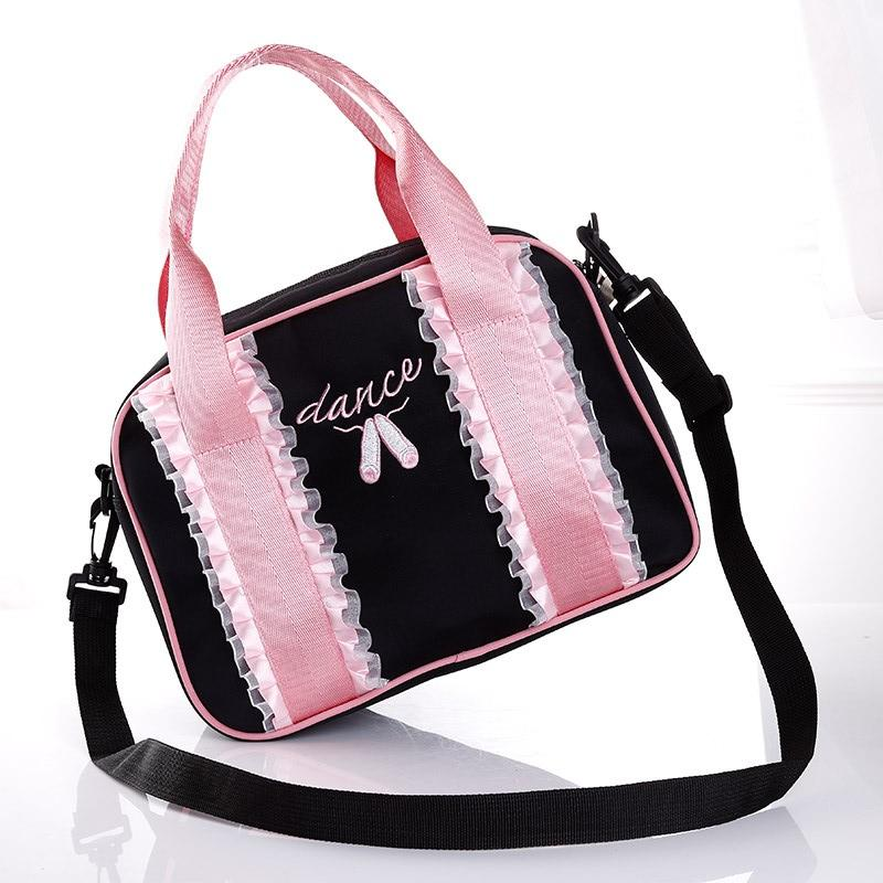 7f7ea7d3c6 Wholesale-Pink Women s Dance Shoulder Bag Clutch Bags Ballet Dancing ...