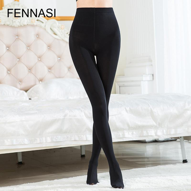 1c36b7a08fd01 2019 FENNASI Sexy Thick Women Tights High Waist Warm Pantyhose Plus Size  Autumn Winter Tights Large Size Female Fashion Stockings From Yuhuicuo, ...