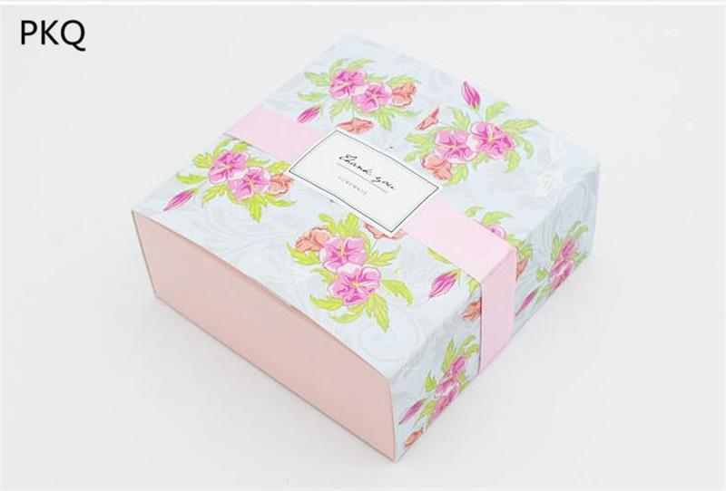 Compre 12 12 5 Cm Flor Imprimir Caixa De Presente De Casamento