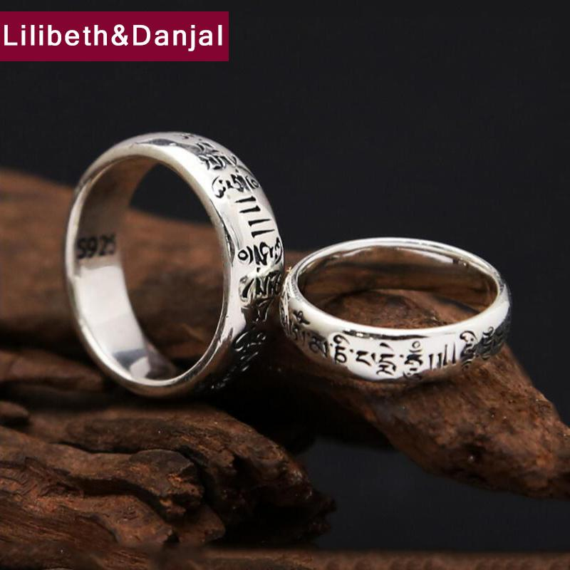 2019 Mantra Couple Valentine S Day Gift Ring 100 Real 925 Sterling