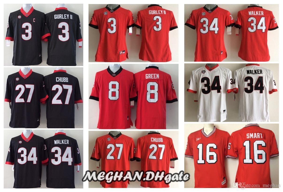 nick chubb youth football jersey