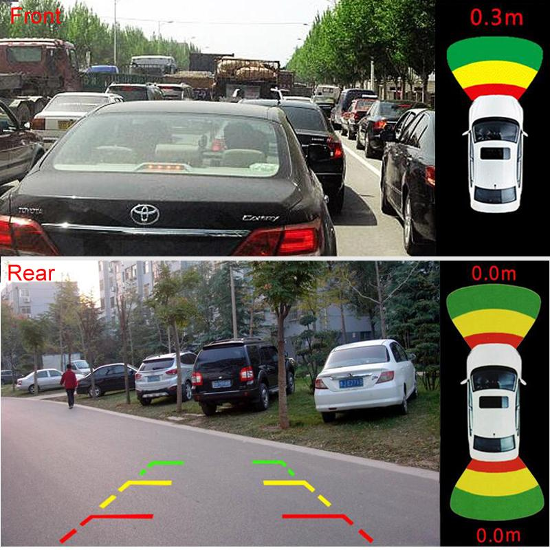 943c3988fbc 2019 GreenYi 8 Video Parking Sensor Car Vehicle Reverse Backup Radar System  Support Front Rear Camera Parking System Bibi Sound From Tonethiny